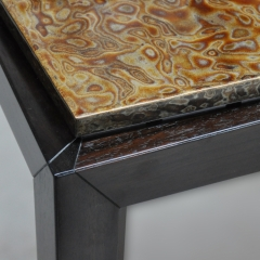 8. rosewood side table detail 2