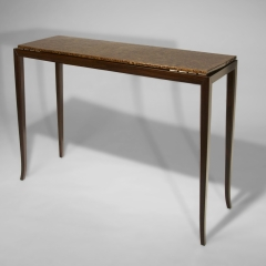 7. rosewood side table
